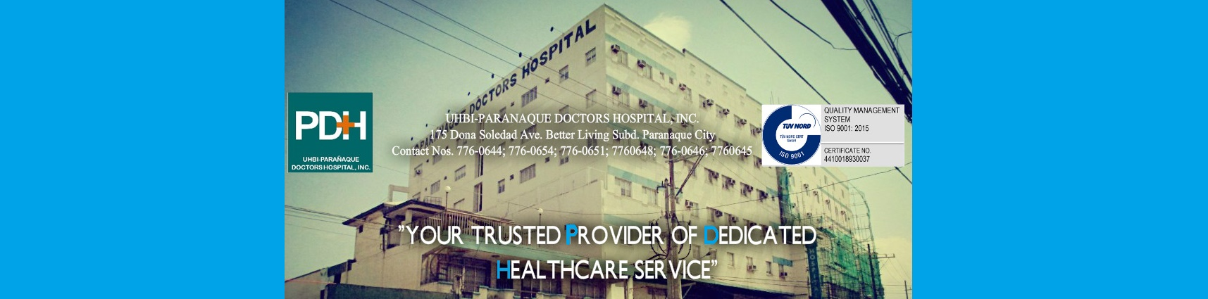 Parañaque Doctors Hospital, Inc.